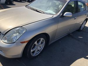 2003 Infinity G35 part out for Sale in Benicia, CA