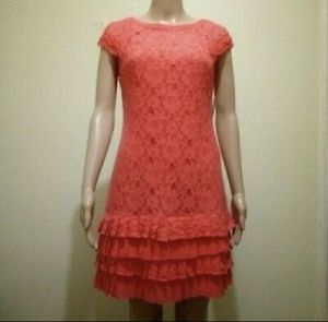 Coral fringe dress for Sale in Aventura, FL