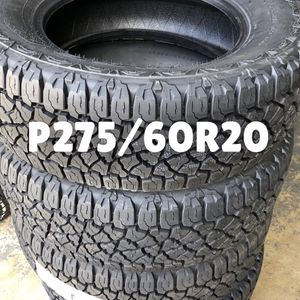 Four P275/60R20 Kelly Edge AT for Sale in Winfield, IL