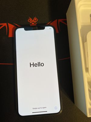 Mind condition iPhone X AT&T 256GB for Sale in Bakersfield, CA