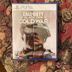 Call Of Duty Black Ops Cold War PS5 Game Brand New for Sale in Los Angeles, CA
