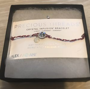 Precious Threads Crystal Infusion Bracelet Alex and Ani for Sale in Stafford Township, NJ