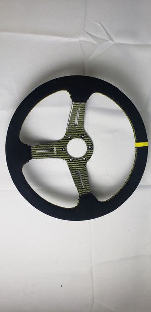 DND Carbon Kevlar limited edition steering wheel 350mm for Sale in Los Nietos, CA