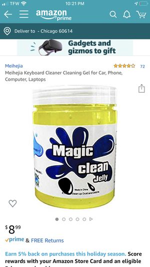 Keyboard Cleaner Cleaning Gel for Car, Phone, Computer, Laptops for Sale in Chicago, IL