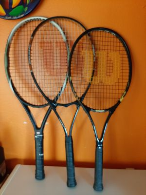 Wilson Tennis Rackets ! for Sale in Battle Ground, WA