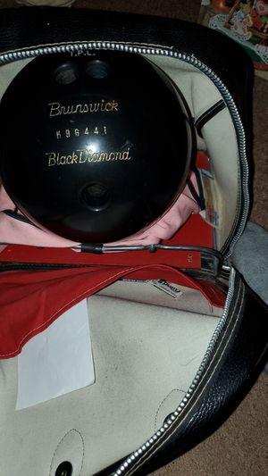 Brunswick Black Diamond bowling ball best offer 1960's for Sale in Newark, NJ