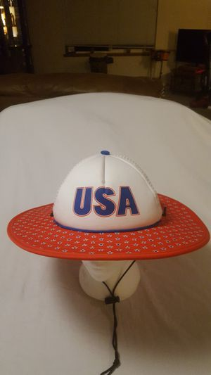 USA patriotic hat cowbucker shapeable for Sale in Everett, WA