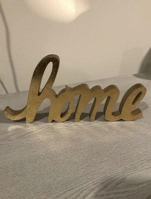 Home sign decor for Sale in Hawthorne, CA