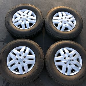 RAM Promaster OEM Wheels Michelin Tires TPMS for Sale in Torrance, CA