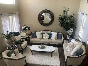 4 Piece French Style Sofa Set Only for Sale in Livermore, CA