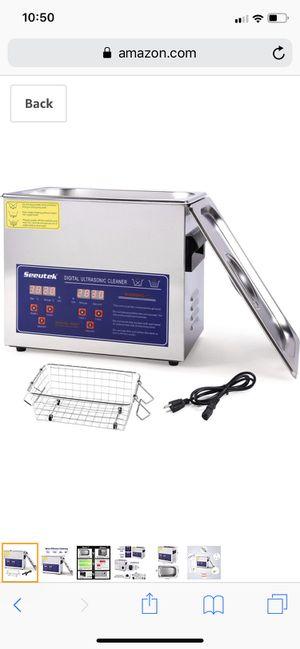 Digital ultrasonic cleaner for Sale in Riverside, CA