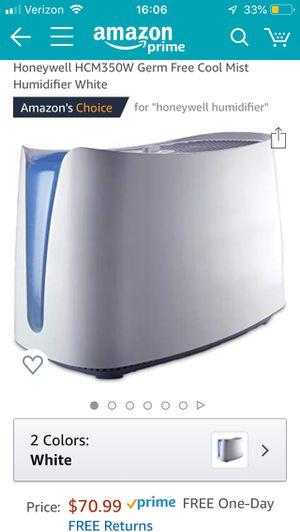 Honeywell Humidifier for Sale in Newport Beach, CA