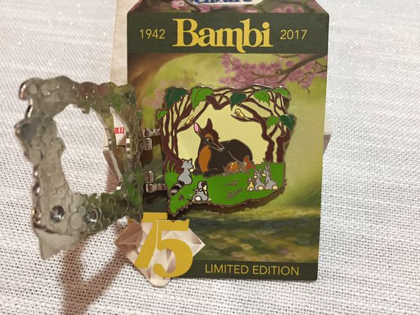 Disney Bambi Limited Edition Pin -NEW