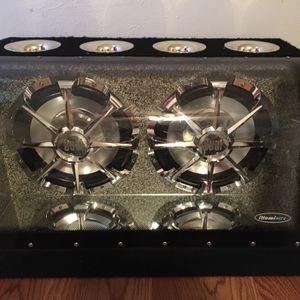 Dual 12 Inch Subwoofers Illuminite XNBP12D Bandpass Enclosure for Sale in Dawson, TX