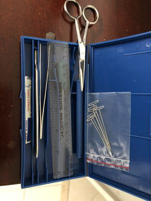 Dissection kit and microscope slides for Sale in Boca Raton, FL