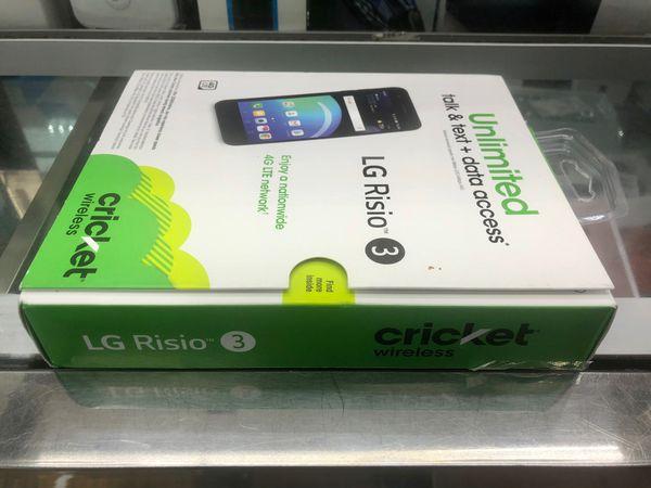 LG Risio 3 4G LTE (FACTORY UNLOCKED) 💥💥 BRAND NEW SEALED!!! 💥💥