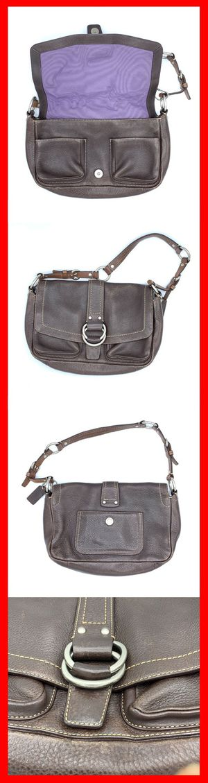 Coach Brown Shoulder Bag Purse Pebbled Leather D0773-F10893 Chelsea for Sale in Brooklyn, NY