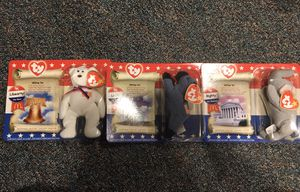 NWT 2000 TY Beanie Babies American Trio for Sale in Massapequa, NY