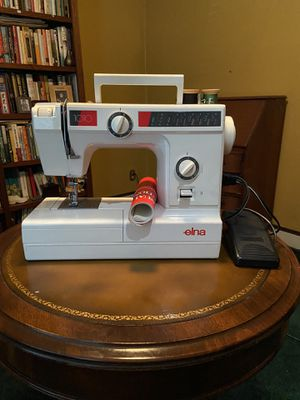 Elna 1010 Sewing Machine used once for Sale in Pleasant Ridge, MI