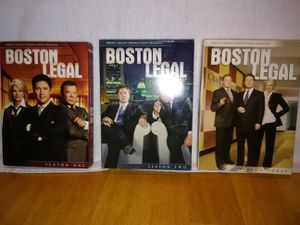 Boston Legal on DVD's Seasons 1,2 and 3 for Sale in Canyon Lake, CA