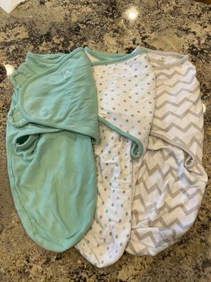 3 swaddle me swaddlers size Small for Sale in Plainfield, IL
