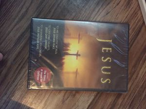 Jesus the movie - brand new never opened perfect for a Christmas stocking stuffer :) for Sale in Mansura, LA