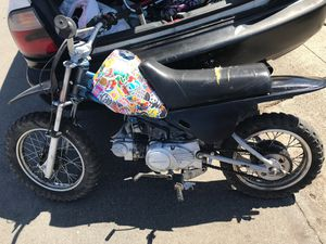 50cc motor 80 frame upgraded suspension in rear for Sale in San Lorenzo, CA