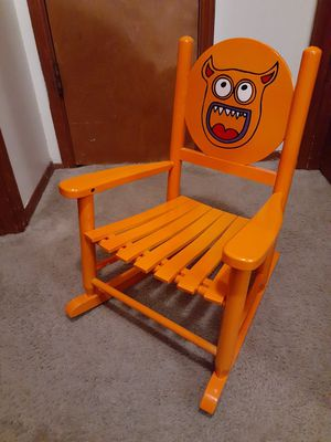 Little rocking wooden chair for kids. Available for Sale in Everett, WA