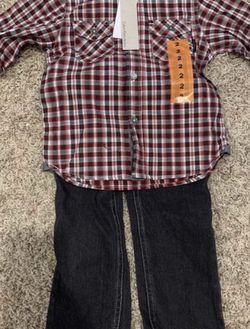 New 2T Calvin Klein shirts and jeans set for Sale in Houston,  TX