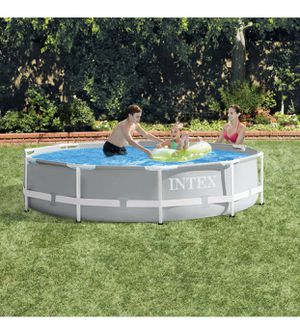 NEW Intex 10ft x 30in prism metal frame pool, no pump for Sale in St. Louis, MO