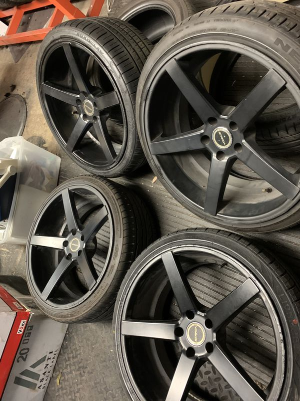 Make a serious offer/ 20inch set / 5x114 pattern