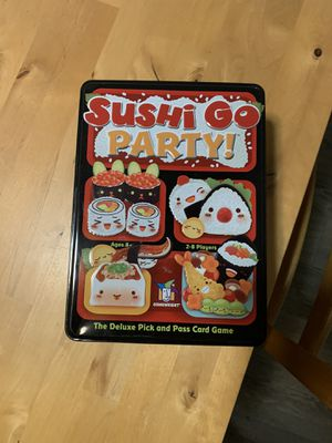Sushi go party! board game for Sale in Puyallup, WA