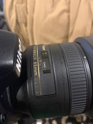 Nikon 85mm 1.8G for Sale in Livermore, CA