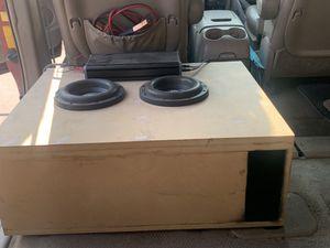 "Skar Zvx D4 8"" subwoofers for Sale in Fort McDowell, AZ"