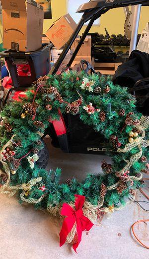 """Christmas Wreath 44"""" Diameter. for Sale in Setauket- East Setauket, NY"""