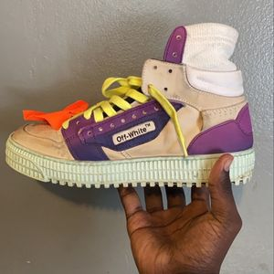 Off White Sneakers Size 7 for Sale in Fort Washington, MD