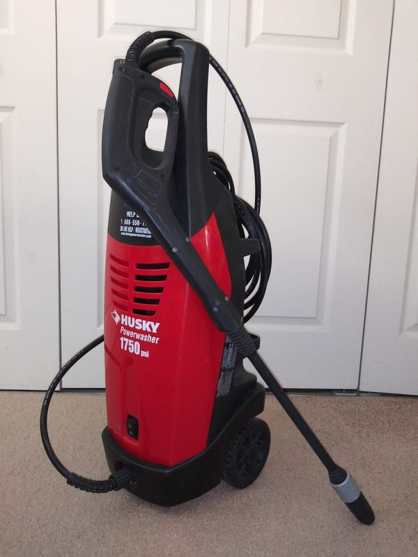 Husky 1750 psi Electric Power Washer