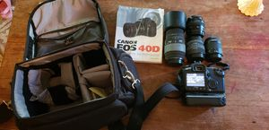 Canon 40d with extras for Sale in Hilo, HI
