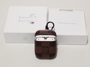 BRAND NEW Apple 2nd Generation Airpods With Wireless Charging Case and Luxury Designer Cover for Sale in Gahanna, OH