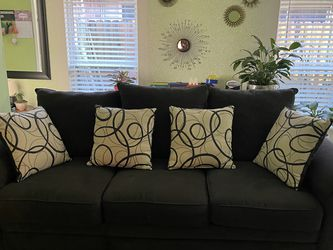 2 LARGE CORDUROY COUCHES for Sale in Houston,  TX