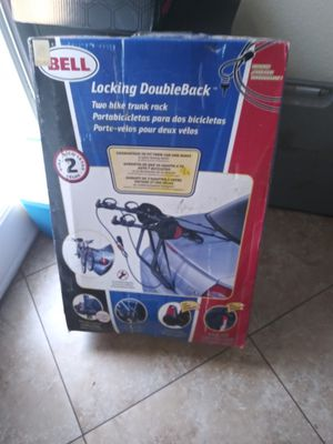 A bell two bike rack for the rear of your car $25 for Sale in Phoenix, AZ