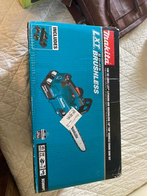 """Makita 16"""" chainsaw kit for Sale in San Diego, CA"""