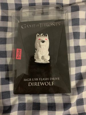 16GB Game of Thrones Direwolf Flash Drive for Sale in Doral, FL
