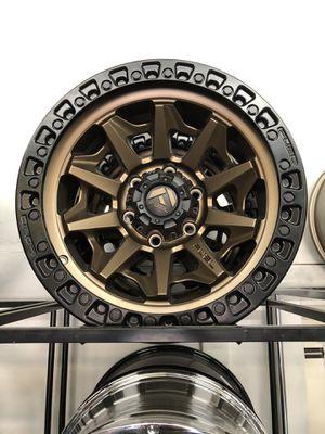 17x9 fuel rims 6lugs Chevy for Sale in Phoenix, AZ