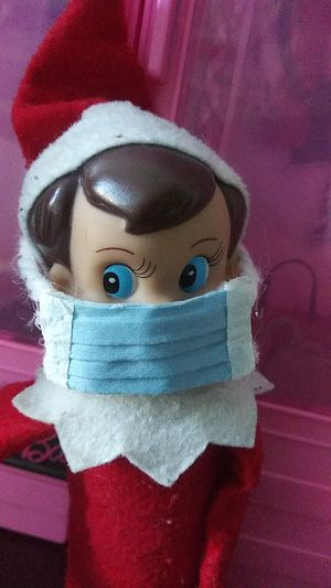Elf on the shelf face fask for Sale in Los Angeles, CA
