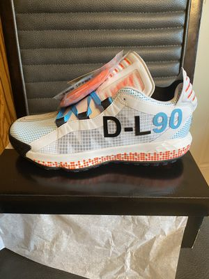 Brand new adidas dame 5 pusha t all star size 9 with box for Sale in San Antonio, TX