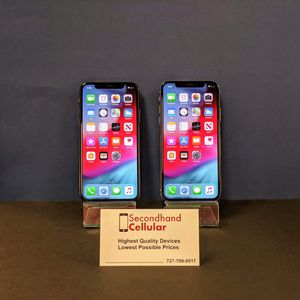 64GB Silver & Space Gray iPhone X Models available! *As little as $99 down! for Sale in Largo, FL
