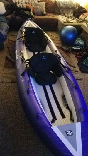 Inflatable kayak Aquaglide Klickitat HB 2 for Sale in Bailey, CO