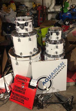 DW Concept Series 7 pc drum set for Sale in Union City, NJ