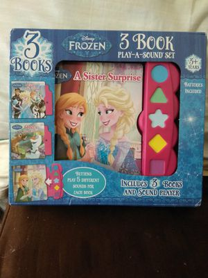 Disney FROZEN Book Set for Sale in Baltimore, MD